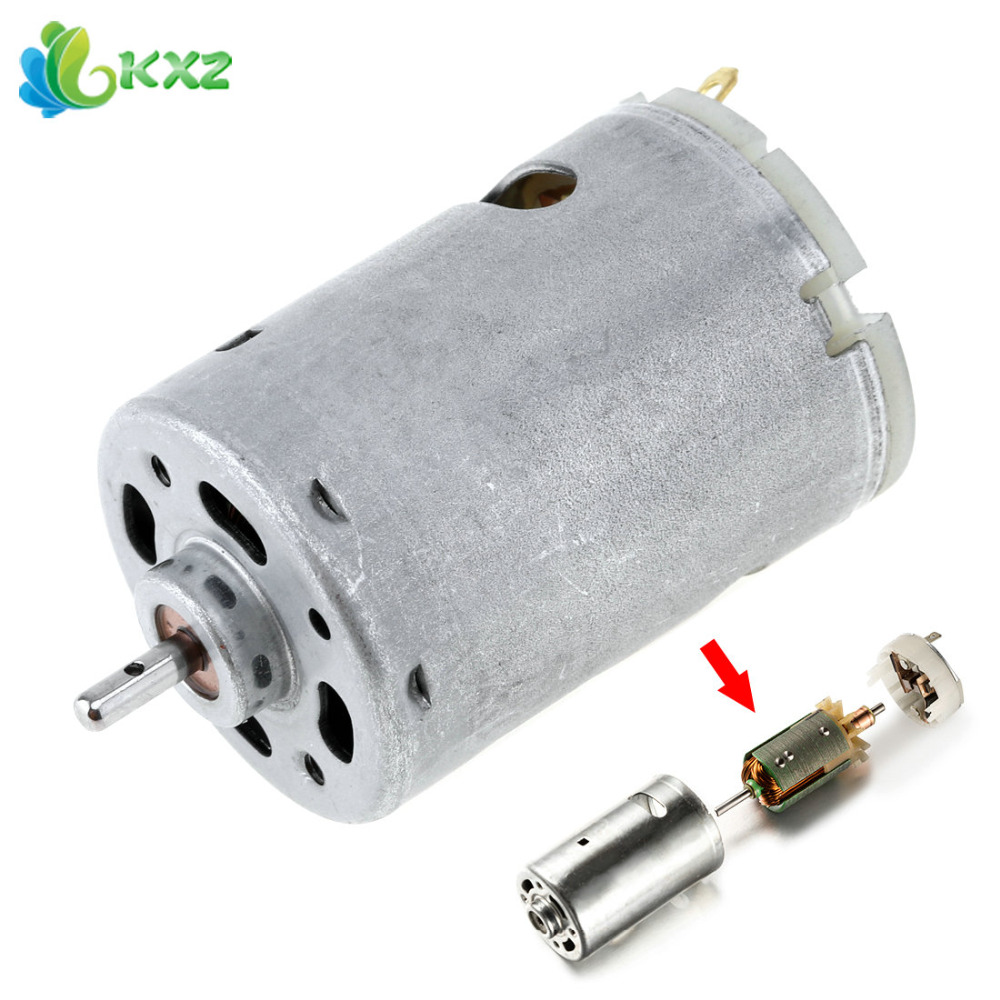цена на 12V 1.4A 23000 RPM 545 DC Motor High Speed DIY Electric Tool with 3mm Shaft Diameter High Torque Gear Box for Remote Control Car