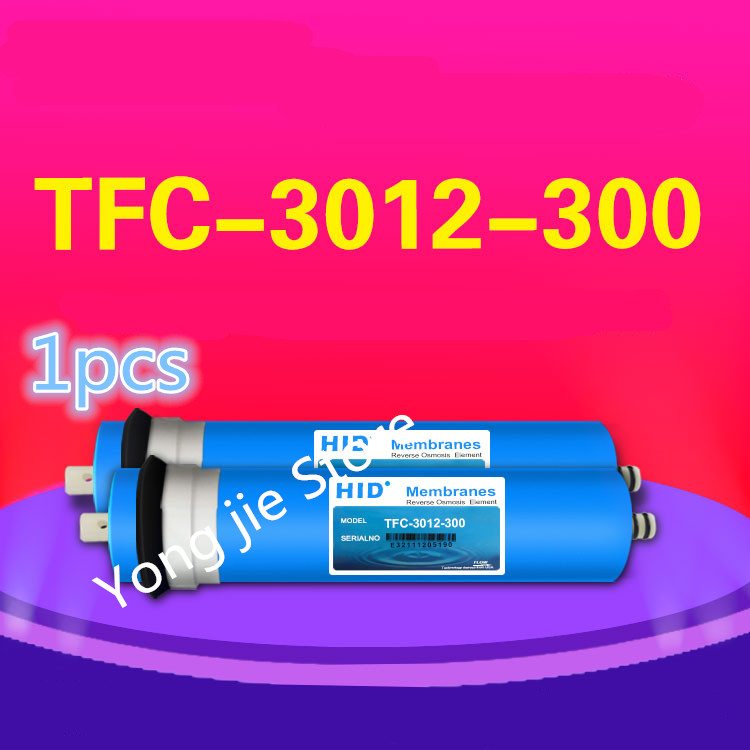 1pcs high quality 300 gpd reverse osmosis filter HID TFC-3012 -300G Membrane Water Filters Cartridges ro system Filter Membrane pgm golf club sand bar practice special digging rod stainless steel knife back design wholesale