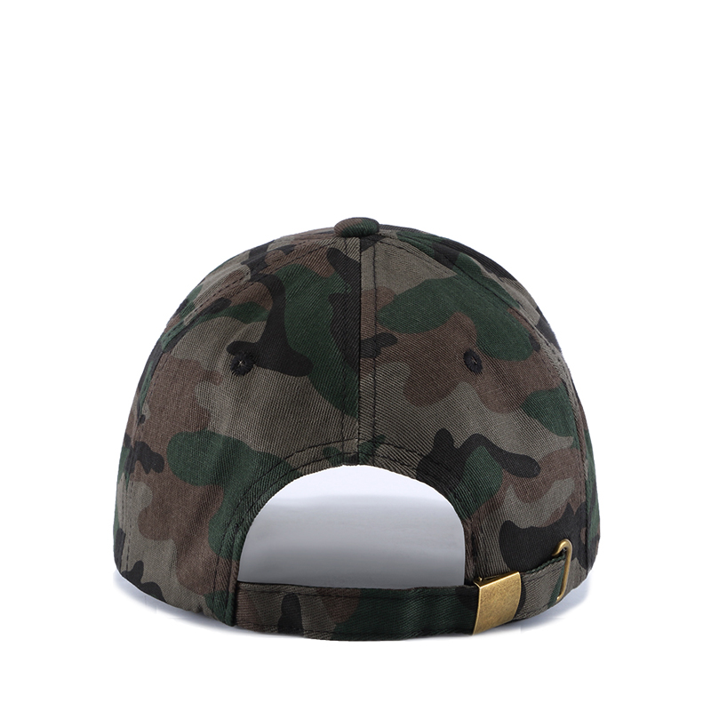 WUKE New Army Camouflage Caps Embroidery Leaves Men s Snapback Hats Gorras  Militares Hombre Women Adjustable Baseball Caps-in Baseball Caps from  Apparel ... a63d91662cf