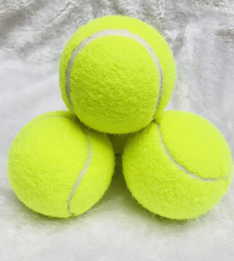 Beach Tennis Ball Natural Rubber Resistant To Durable Tenis High Elasticity Ricket Balls For Tennis Training Sports