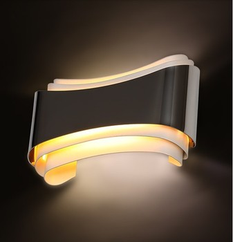 Wall Sconce Simple Modern LED Wall Light Fixtures For Home Bedroom Lighting,Wandlamp Apliques Pared wall sconce american country golden vintage led wall light fixtures for home indoor lighting beside lamp lamparas de pared