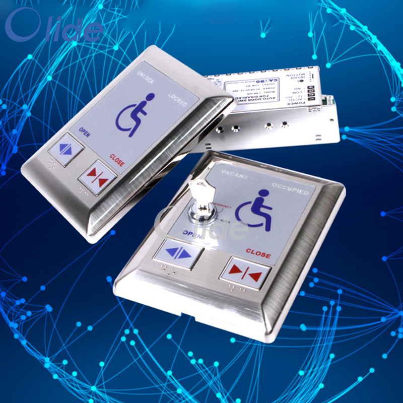 Automatic Door Push Switch For Disabilities Used In Toliet Washroon|Automatic Door Operators| |  - title=