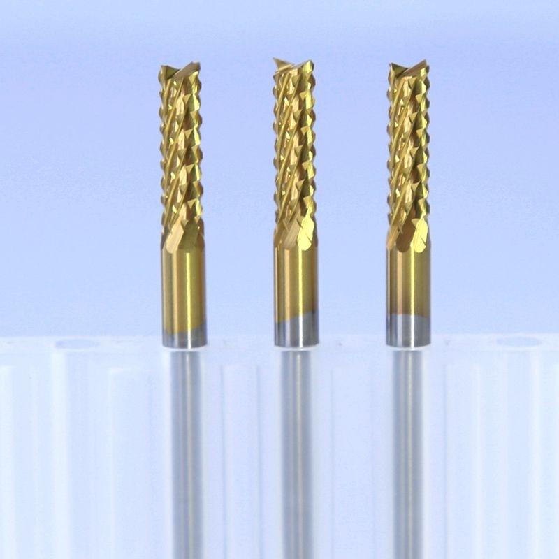 Fa router bit 0,9-3,175 mm titán bevonattal pcb eper fémvágó cnc - Szerszámgépek és tartozékok - Fénykép 2