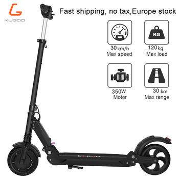 [Poland stock] No tax KUGOO S1 Electric Scooter Adult Electric Scooter 350W Folding 3 Speed Modes 8 Inches IP54 30KM 3-6day