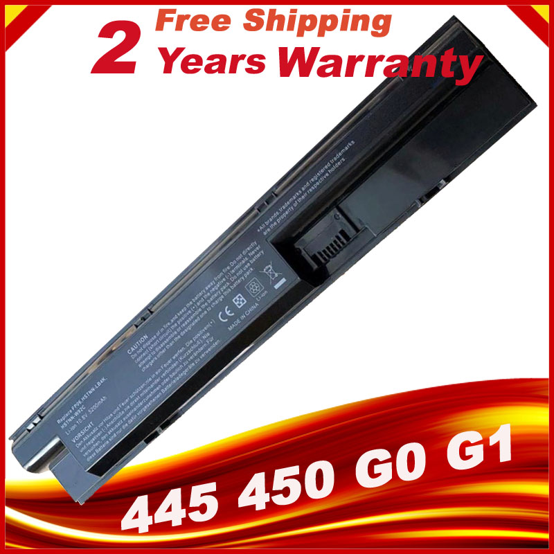 HSW Laptop Battery For HP COMPAQ ProBook 440 445 450 470 455 G0 G1  Series 707617-421 708457-001 708458-001 FP06 FP06XL FP09