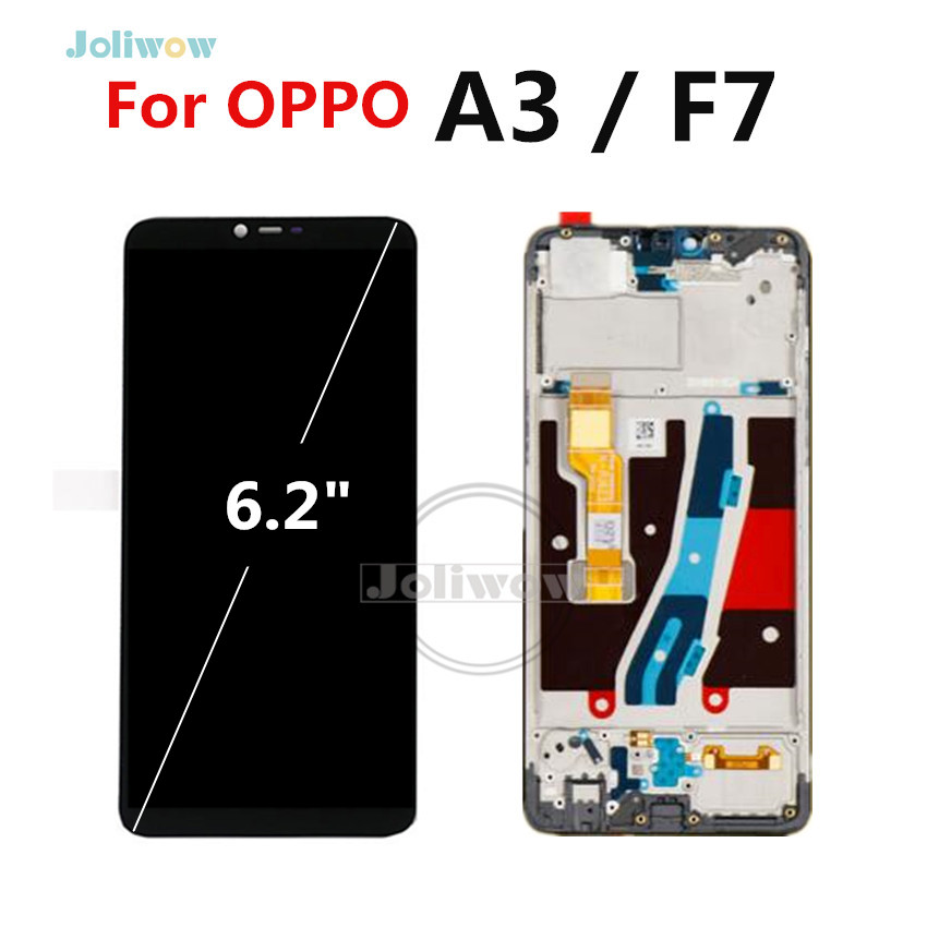 F7 LCD FOR OPPO A3 Full DIsplay +Touch Screen with frame Digitizer Assembly Replacement Parts For Oppo lcd Display