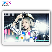 10.1 pouce tablet pc Android 7.0 octa core RAM 4 GB ROM 32/64 GB Dual SIM Bluetooth GPS 1920*1200 IPS Smart comprimés pcs 10  »101 »