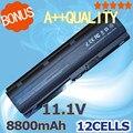 8800 мАч 12 ячеек батареи для HP pavilion dv3 dm4 dv5 dv6 dv7 g4 g6 g7 для Compaq Presario CQ32 CQ42 G42 G62 HSTNN-UB0W mu06