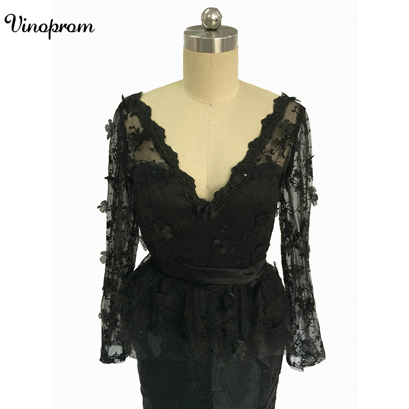 Long Sleeves   Cocktail     Dresses   Short Prom Homecoming   Dress   Custom Made Cheap High Quality Graduation Formal Party Gowns