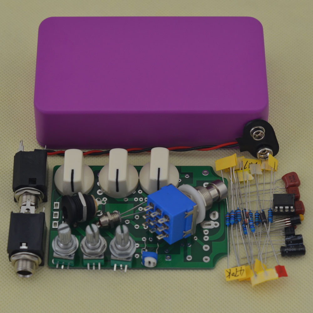 diy overdrive guitar pedal kit with1590b box and ictl082cp od1 pedal kit r10 true bypass in. Black Bedroom Furniture Sets. Home Design Ideas