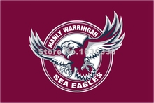 Manly-Warringah Sea Eagles Flag 3ft X 5ft National Rugby League NRL Banner Size 4 144* 96cm Flag