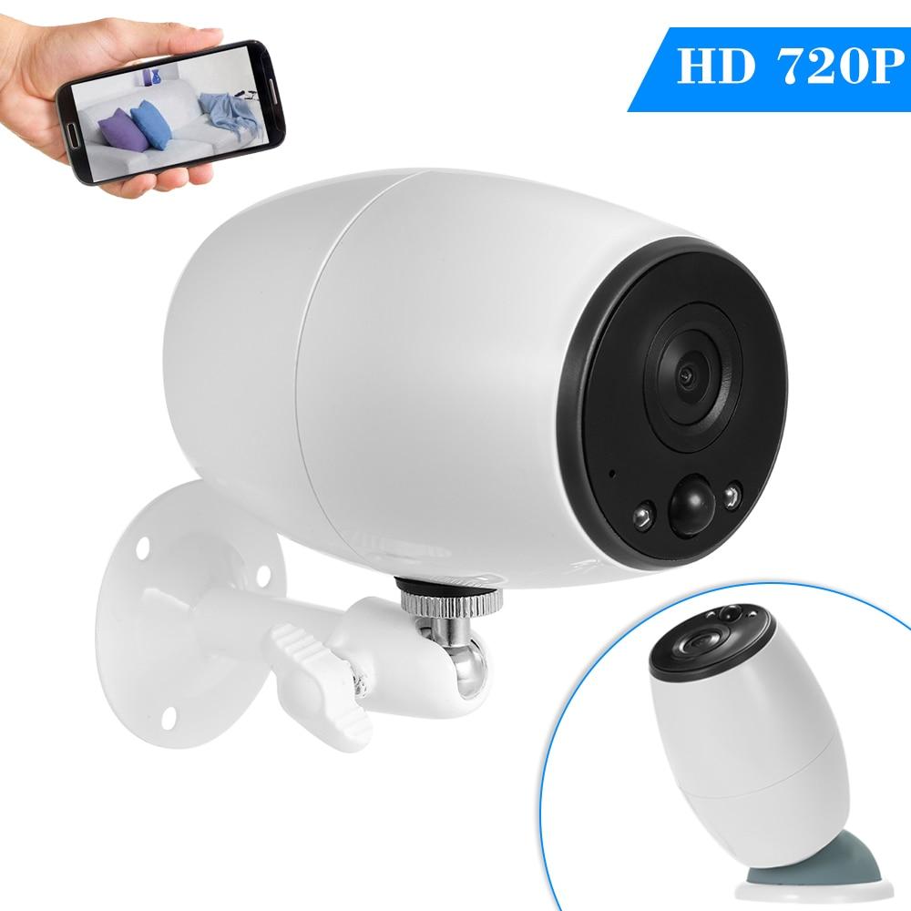 720 P caméra IP sans fil Wifi Wi fi Surveillance vidéo nuit sécurité batterie caméra téléphone APP vue à distance intérieur bébé moniteur-in Caméras de surveillance from Sécurité et Protection on AliExpress - 11.11_Double 11_Singles' Day 1