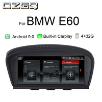 OZGQ Car Media Entertainment Player For 2005 2010 BMW 5 Series E60 CCC CIC System Android 9.0 GPS Multimedia With CarPlay Screen