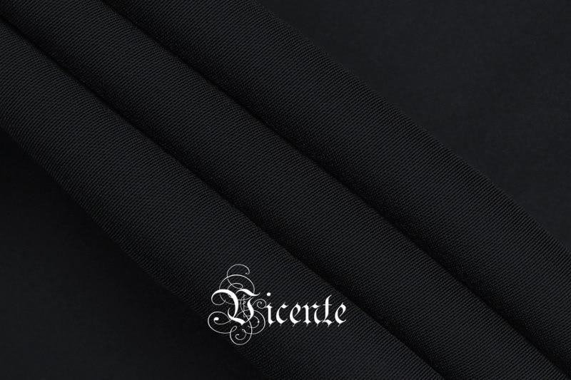 V Mini Il A Partito Lunghe Del Vicente Randello New Vestito Disegno Profondo Sexy Maniche Chic Drappeggiato Scollo 2019 Nero Celebrità xPvwxq4U