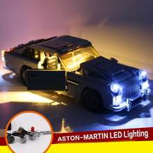 LED Light Kit For Lego 10262 Aston Martin DB5 James Bond Lighting Bricks Toys Building Block Toy Accessories(China)