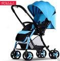 Carrinho de bebê luz ultra pode sentar mentindo dobra two-way crianças bb carrinho de bebê carrinho de criança