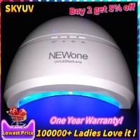 SUNone 48W Nail Dryer LED UV Lamp Gel Nail Polish Dryer Fingernail Toenail Gel Curing Nail Art Painting Salon Tools