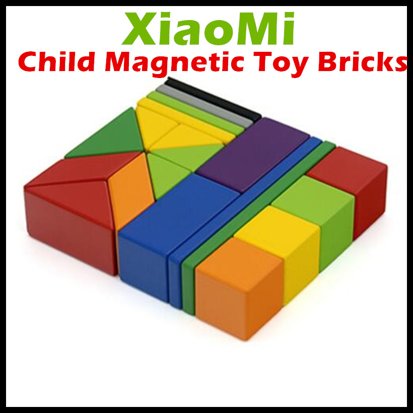 2017 xiaomi mitu child magnetic building block robot mitu for Cost of building blocks in jamaica 2017