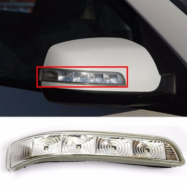 Left And Right Side Mirror Led Turn Signal Light Lamp Flasher Oem