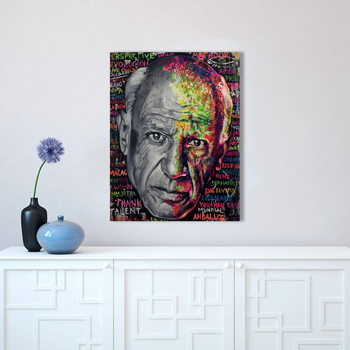 HDARTISAN Wall Art Picture Canvas Print oil painting Figure Graffiti Famous Artist For Living Room Home Decor No Frame