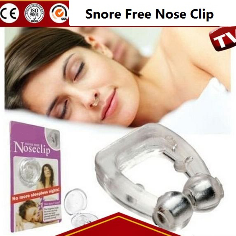 Silicon Snore Stopper Mini Nose Clip Snoring Anti ronco Breathe Sleeping Aid Apparatus Adult Anti Ronflement B87