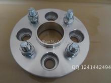 2 pcs Adaptadores de Roda de Alumínio 4x100mm Centro do Furo 56.1mm fio 12×1.5 15mm/20mm/25mm/32mm adaptador espaçadores de rodas para uma visão
