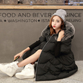 2016 New European And American Trade Explosion Models In The Long Section Cotton Loose Fashion Fifth Sleeve Tide Female  A384