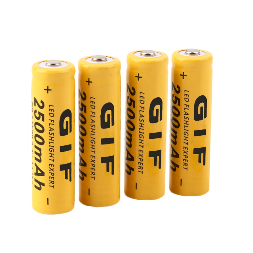 New 4pcs 3.7V 14500 2500mAh Li-ion Rechargeable Battery For Flashlight Torch Torch Flashlight Battery Wholesale new 4pcs 3 7v 14500 2500mah li ion rechargeable battery for flashlight torch torch flashlight battery wholesale