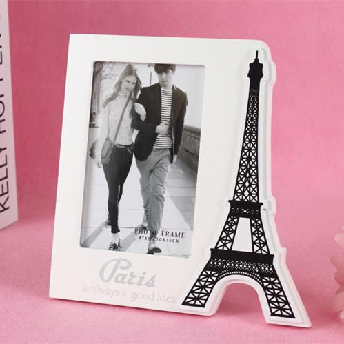 wooden europe amorous feelings eiffel tower paris art frame lovers wedding vertical pendulum picture frame