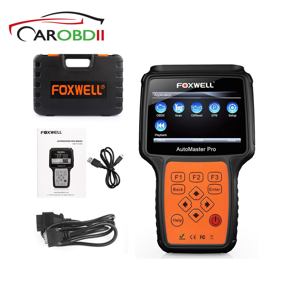 NT614 Foxwell OBD2 Automobile Scanner Moteur Transmission ABS Airbag SRS EPB Oil Reset Code Lecteur obd2 Diagnosic Outil D'analyse