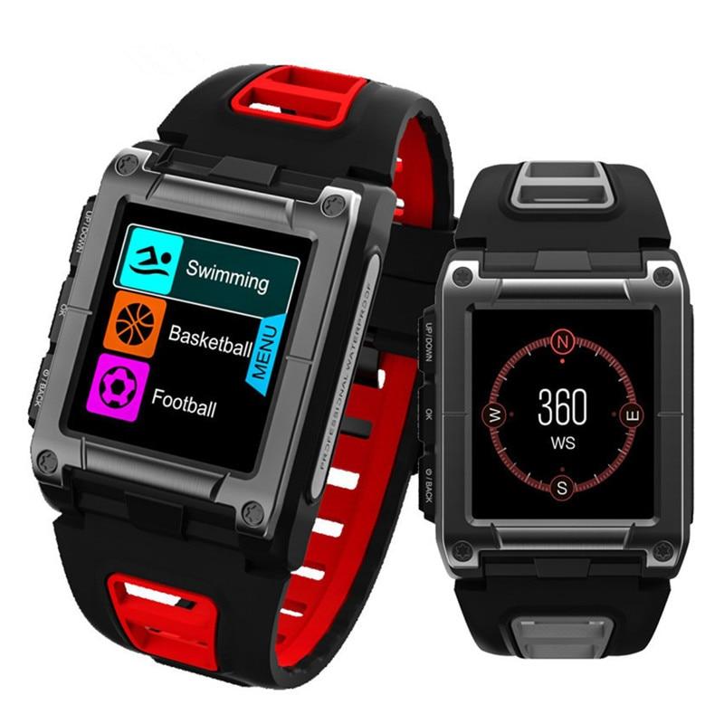 Цветной экран, умный Браслет, на открытом воздухе, Мульти спортивный, профессиональный, для плавания, IP68, водонепроницаемый, пульсометр, шаг, gps, позиционирование, мужские часы