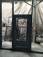 Hand Made Custom Design Forged Iron Wrought Iron Doors For Sale Wid 2