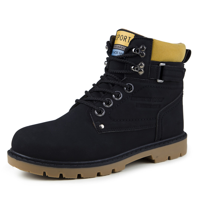 Popular Work Boots Men-Buy Cheap Work Boots Men lots from China ...