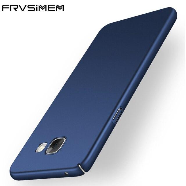FRVSIMEM Hard Plastic Case For Samsung Galaxy  S4 S5 S6 S7 Edge S8 Plus A3 A5 A7 2017 J1 J2 J3 J5 J7 Prime 2016 Cover PC Cases