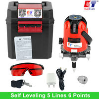 KaiTian Cross Line Laser Level 5 Lines 6 Points Cross Level 1 4 And 5 8