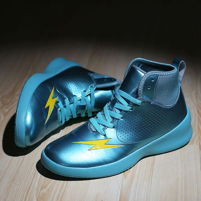 Chaussures de basket-ball hommes vert rouge marque hommes chaussures de basket-ball haut athlétique chaussures de basket-ball hommes baskets