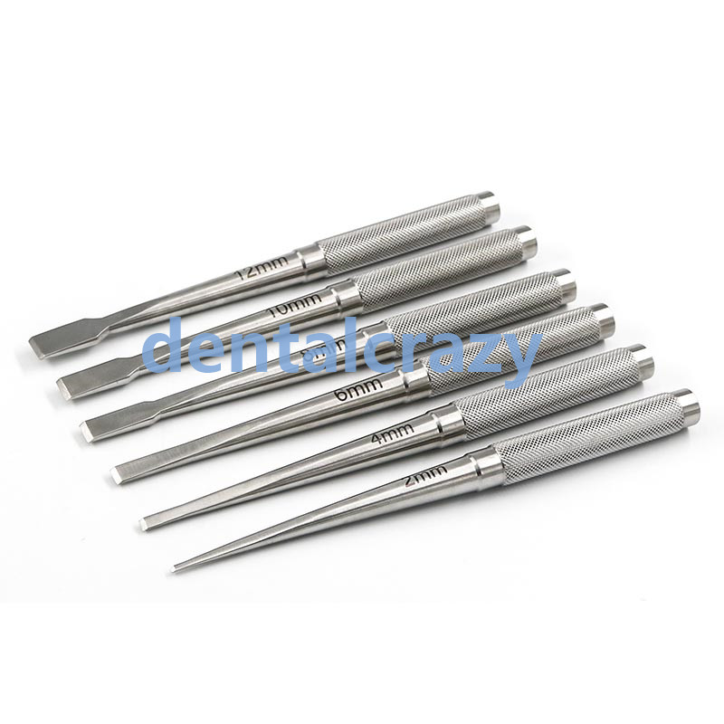 Nasal Bone Knife Stainless Steel Shovel Round Handle Nose Osteotomy Tool Equipment  Nose Cosmetic Surgery Tools