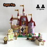 397PCS City Friend Princess Bella Enchanted Castle Building Blocks Compatible With Legoeds