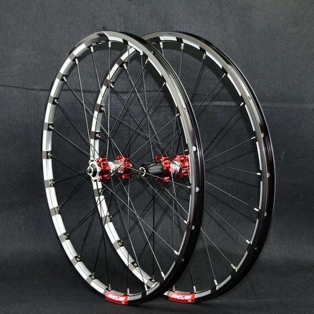 ae8277e06c3 PASAK MTB Mountain Bike Bicycle Milling trilateral CNC bearing hub ultra  light wheel wheelset Rim