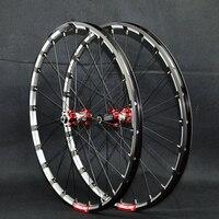 PASAK MTB Mountain Bike Bicycle Milling trilateral CNC bearing hub ultra light wheel wheelset Rim