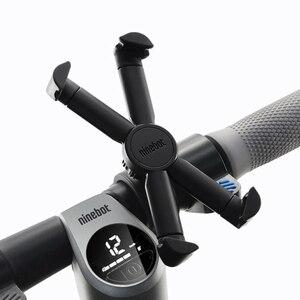 Image 4 - Segway ninebot קטנוע טלפון Bracket 360 תואר Rotatable אופניים אופנוע מחזיק עבור 4.7 אינץ 6.5 אינץ טלפון נייד