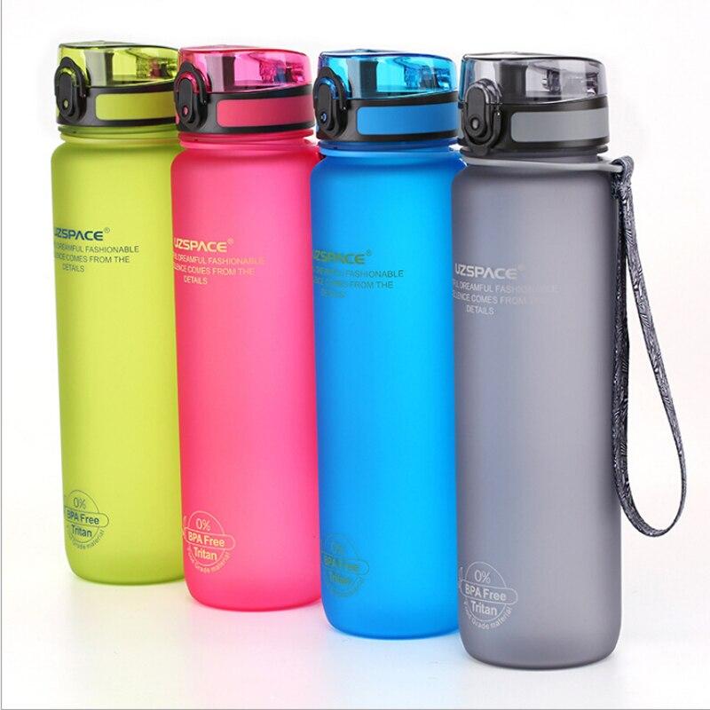 650ml 1000ml BPA Free LeakProof Sports Seal Water Bottle Tritan High Quality Tour Hiking Portable Water bottle Plastic Drinkware