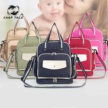 2019 Hotselling Fashion Mummy Maternity Nappy Bag Large Capacity Baby Bag Travel Backpack Desinger Nursing Bag for Baby Care