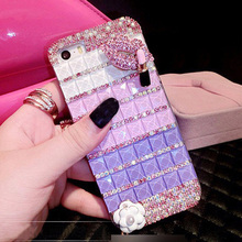 Diamond Case for iPhone X Lips Bling Crystal Rhinestone Phone Cover