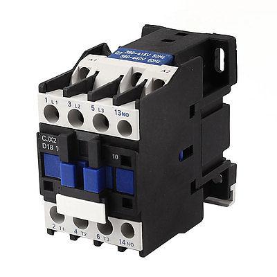 цена на CJX2-1810 380V Coil 3 Poles 3P 35mm DIN Rail Mounting NO DIN Rail AC Contactor