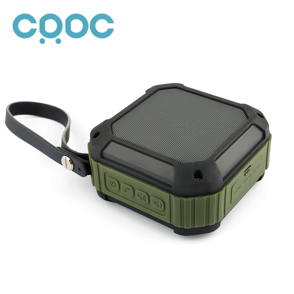 Original CRDC 4 0 Bluetooth Subwoofer With CSR Chip Powerful IP65 Waterproof Mini Portable Wire less