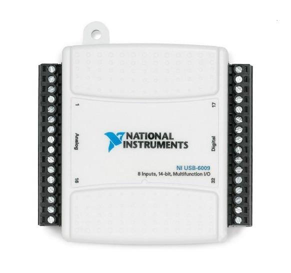 Original NI USB-6009 USB Data Acquisition Card Used, Analog DAQ 8AD 2DA 14bit 48kS/s Labview, Or New Replacement