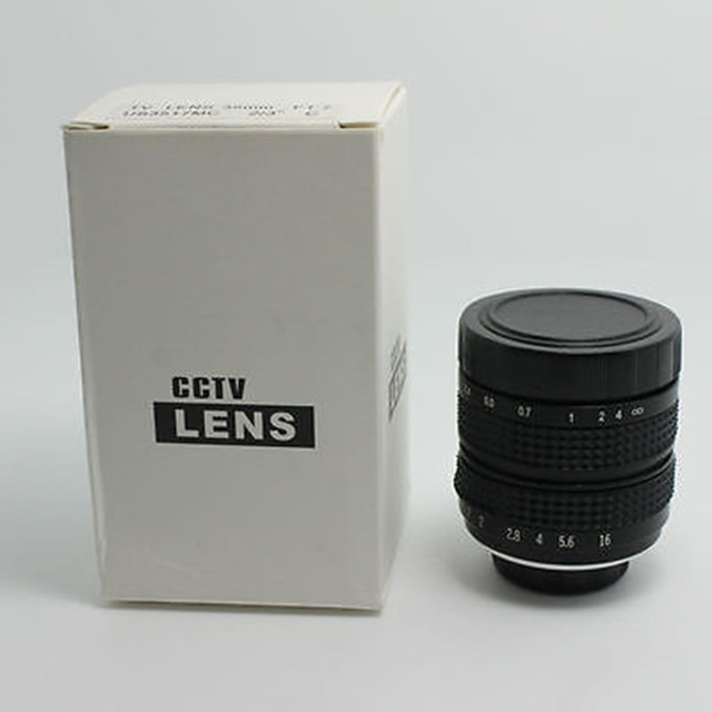 CCTV 35mm f1.7 Lens C Mount lens with adapter ring c-nex For Sony NEX-5 NEX-3 NEX-7 NEX-5C NEX-C3 NEX-5N F3 B