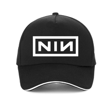 summer Fashion Visor for Men Women Baseball caps Print Nine Inch Nails Rock Band hat Unisex bone adjustable snapback hats gorras