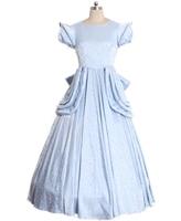 The Little Mermaid princess Ariel Blue Dress Cosplay Costume